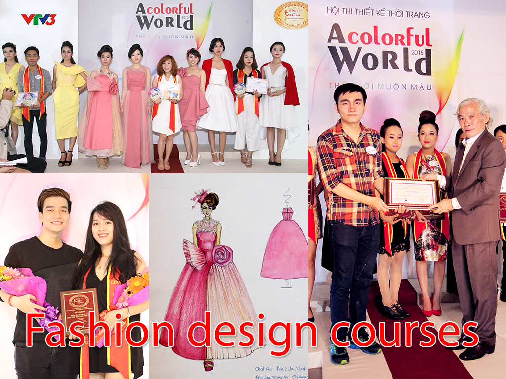 Tr ng qu c th o li n t c chi u sinh l p thi t k th i Fashion designing course subjects