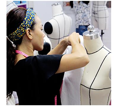 fashion draping for fashion design