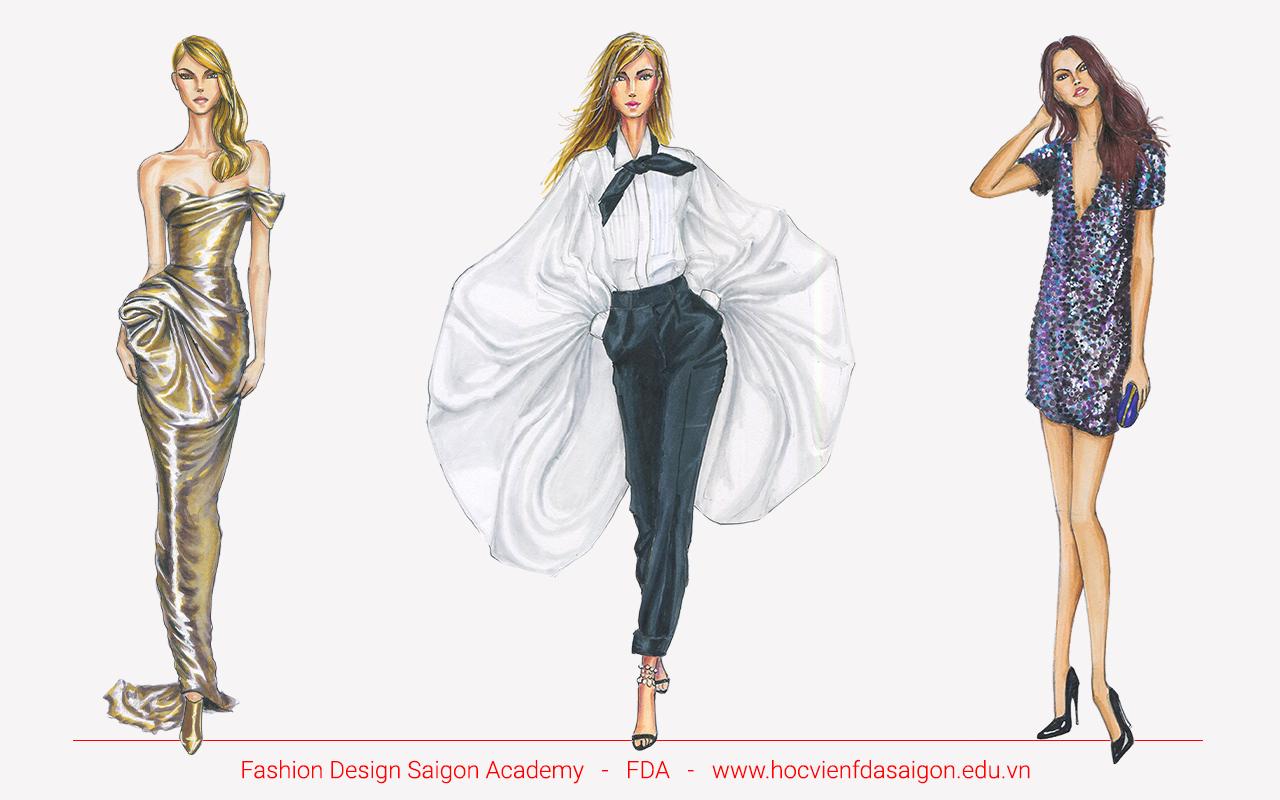 Phác thảo thiết kế thời trang