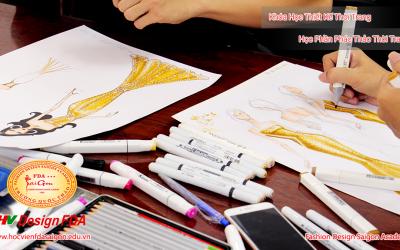 Lớp học vẽ phác thảo thời trang