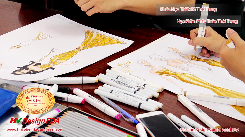 Vẽ phác thảo thời trang