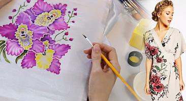 Lớp Học Vẽ Trên Vải Thời Trang