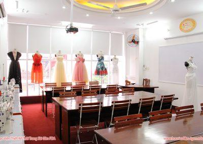 Phòng học tại Học Viện Thiết Kế Thời Trang Sài Gòn FDA