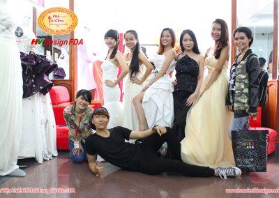 Học Viện Thiết Kế Thời Trang Sài Gòn FDA cơ sở Quận Tân Bình