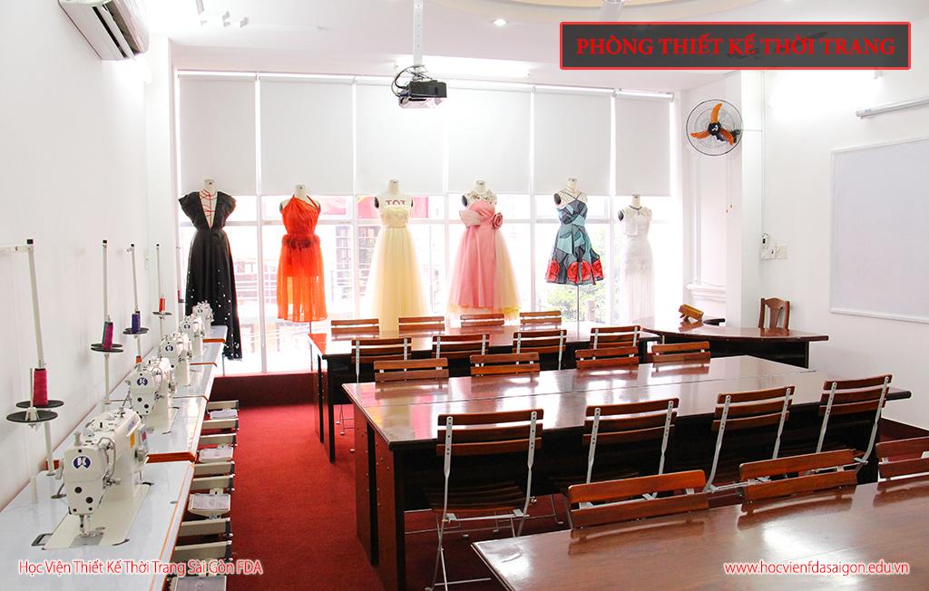 Phòng học thiết kế thời trang