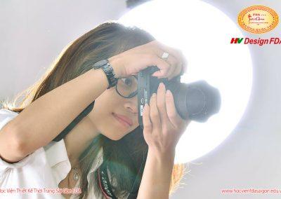 Học viên lớp chụp ảnh thời trang