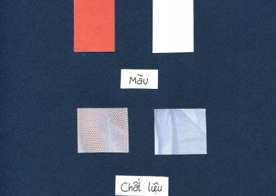 Chất liệu và phối màu