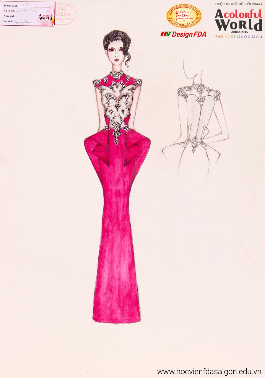 Bài thi thiết kế thời trang của Võ Minh Đức