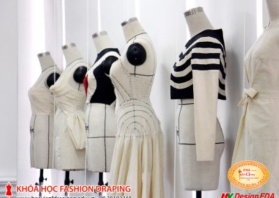 Thiết kế rập 3D trên manocanh draping