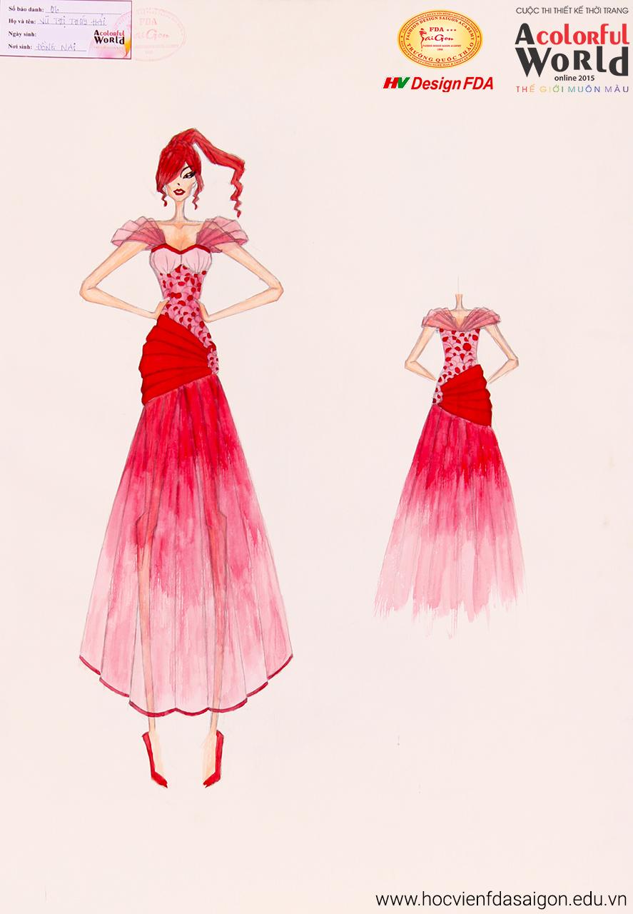 Bài thi thiết kế thời trang của Vũ Thị Thúy Hải
