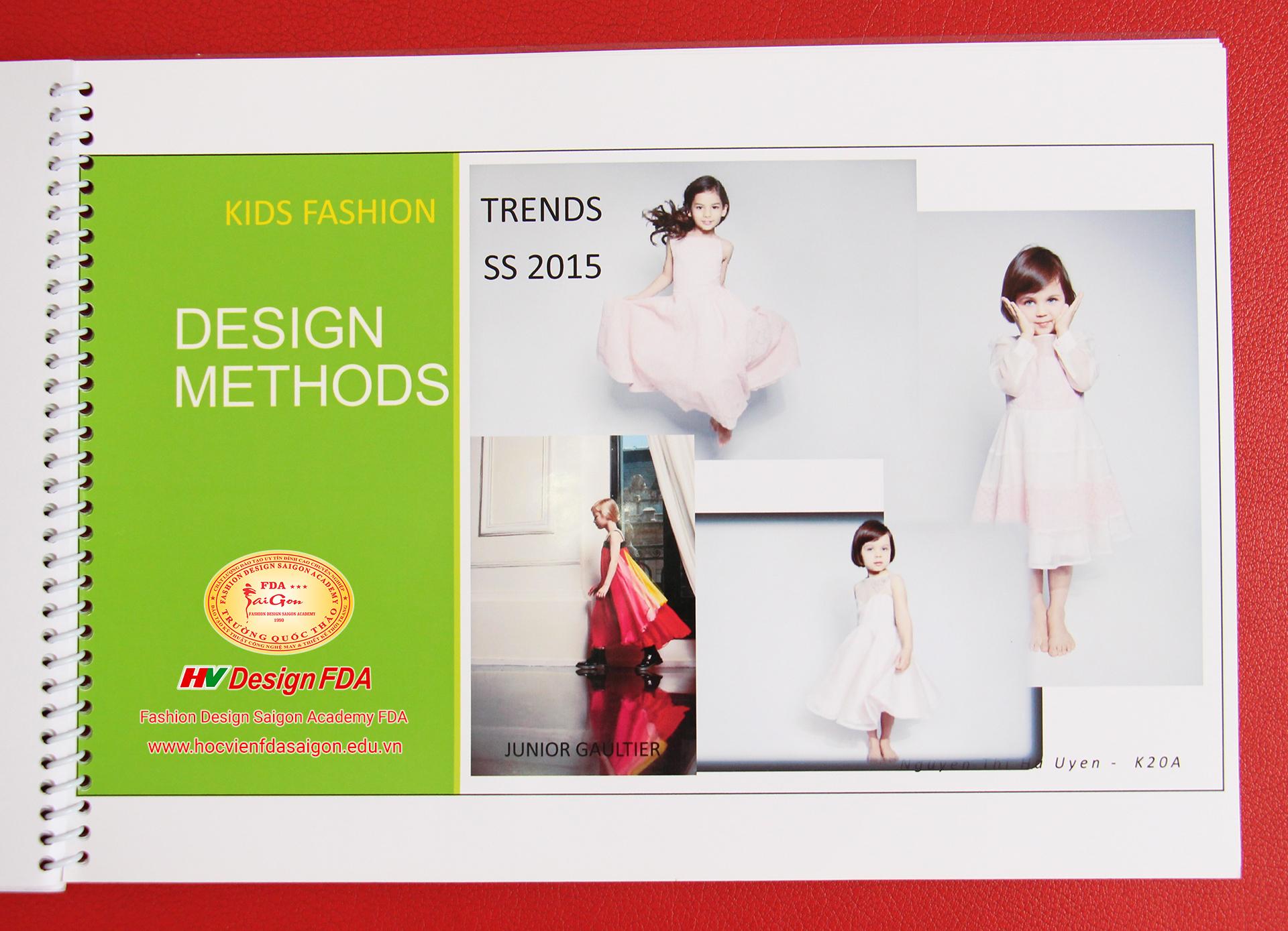Ý tưởng thiết kế thời trang trẻ em