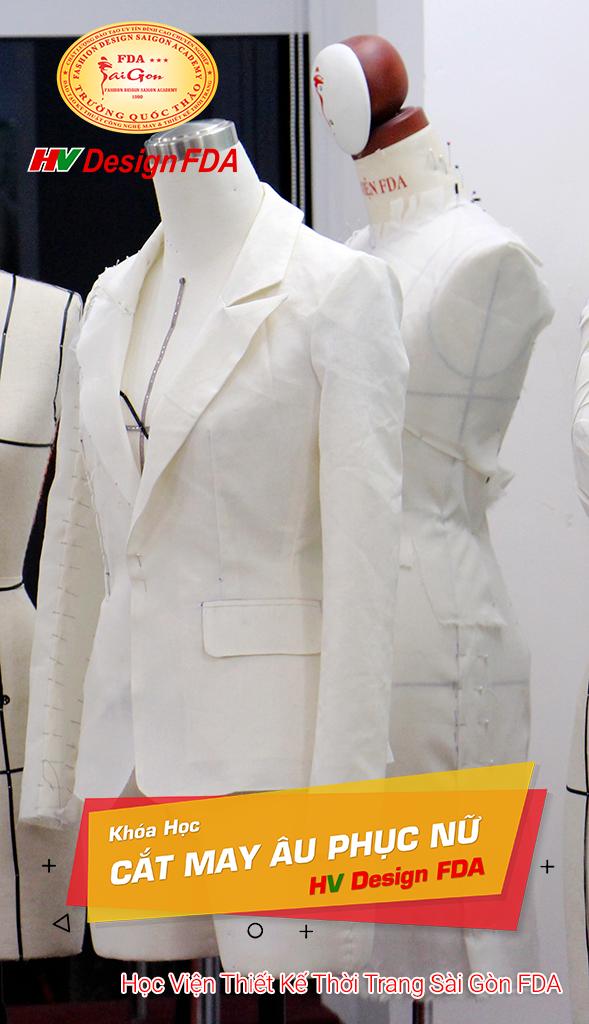 Dạy cắt may áo Vest nữ