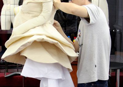 Draping fashion