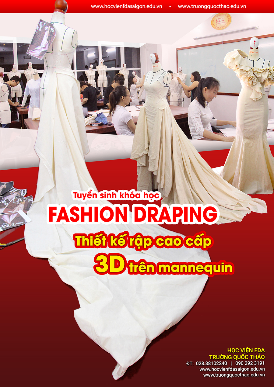 fashion draping rap 3d tren mannequin