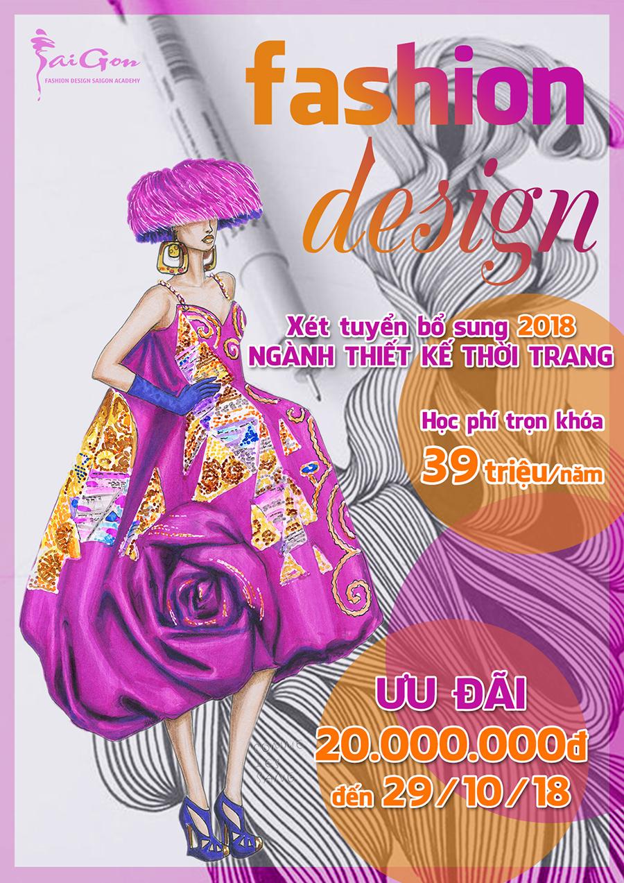 Khóa học Thiết kế thời trang - Fashion design course