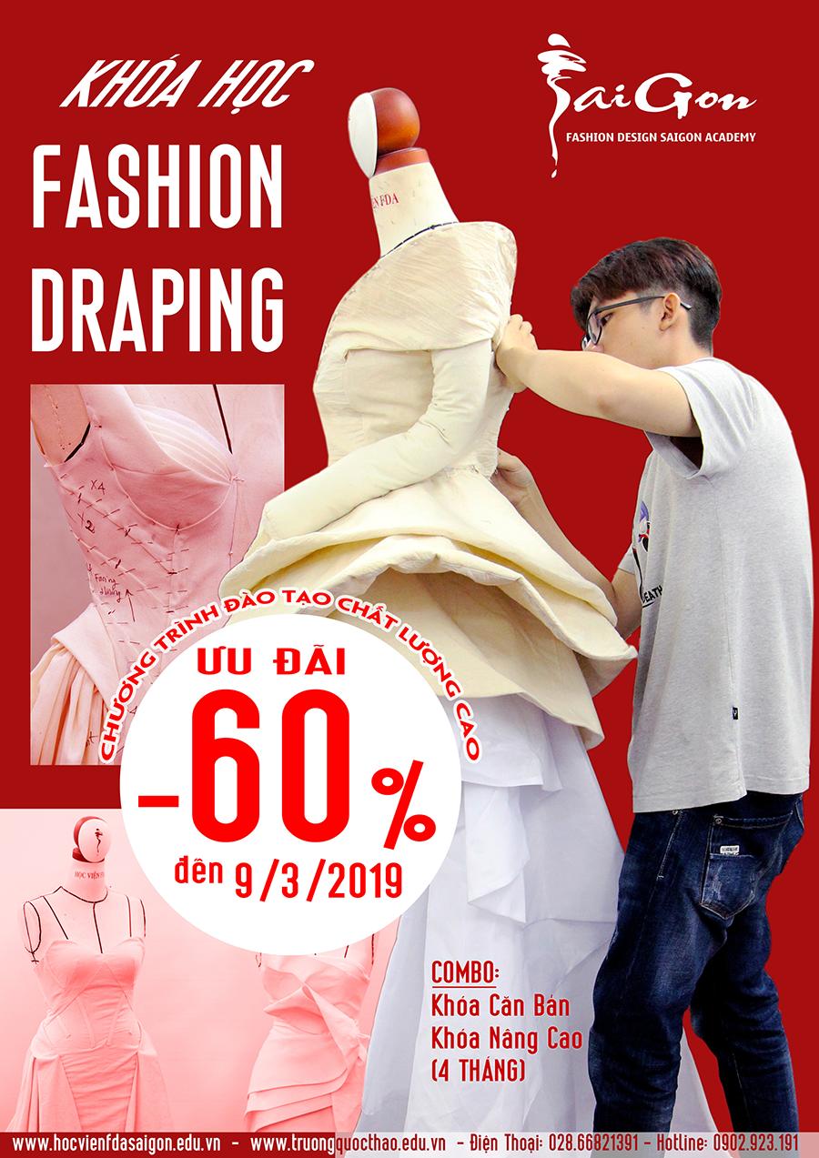 Học fashion drapping
