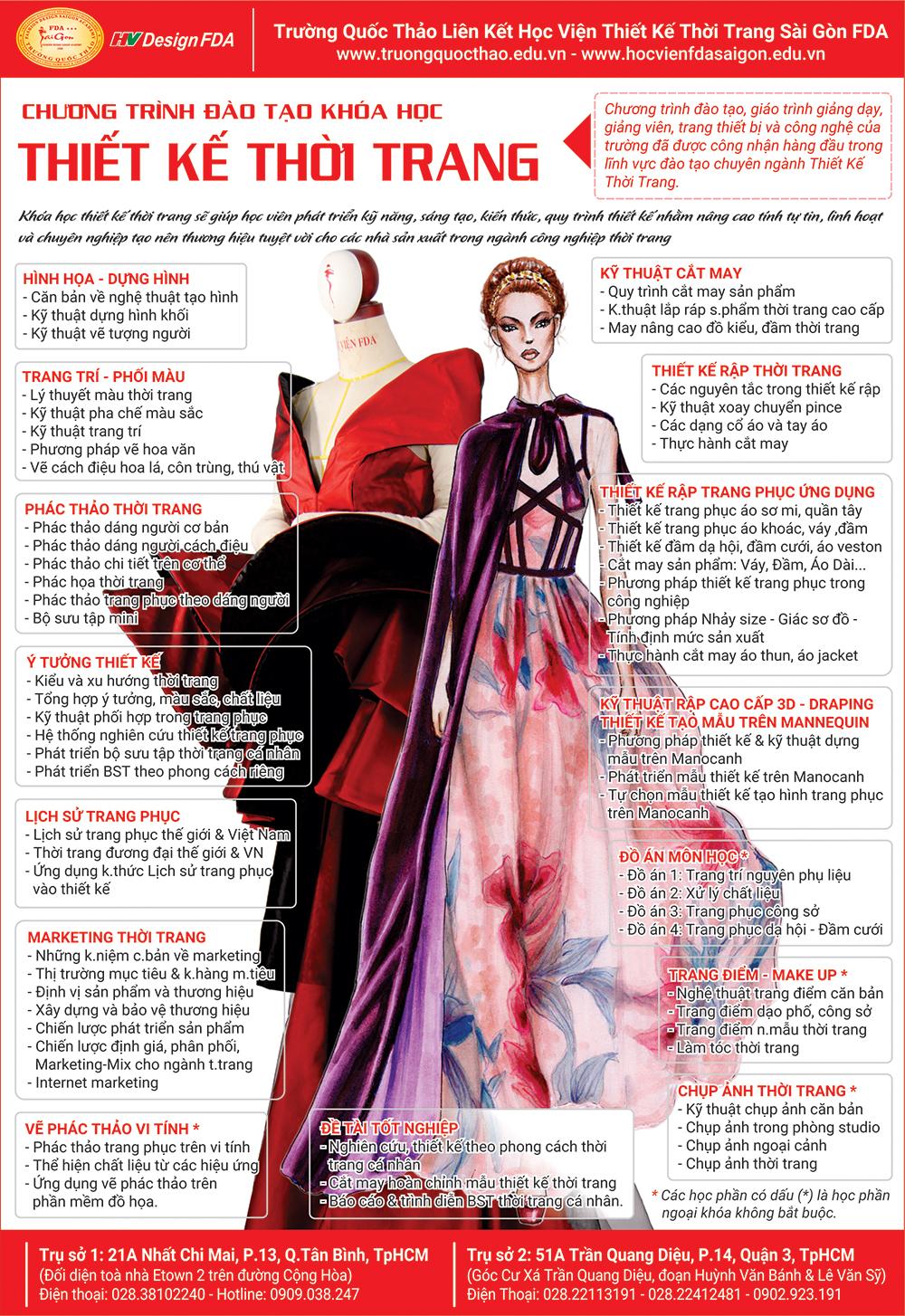 Ngành Thiết kế thời trang 2018