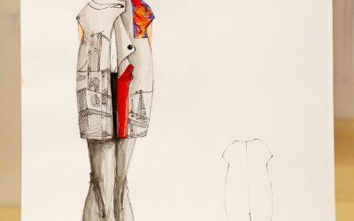 Bản vẽ phác thảo thiết kế thời trang chung kết Cuộc Thi Thiết Kế Thời Trang Online 2017 – Phần 2