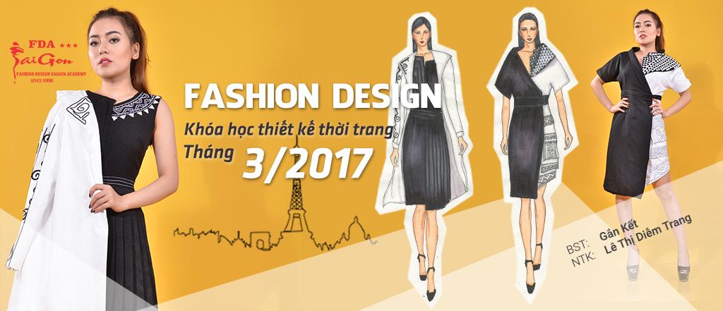 Học thiết kế thời trang tháng 03-2017