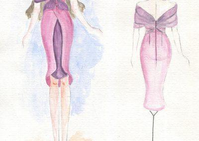 """Phác thảo thiết kế thời trang - Cuộc thi thiết kế thời trang 2017 """"Chic & Street"""""""