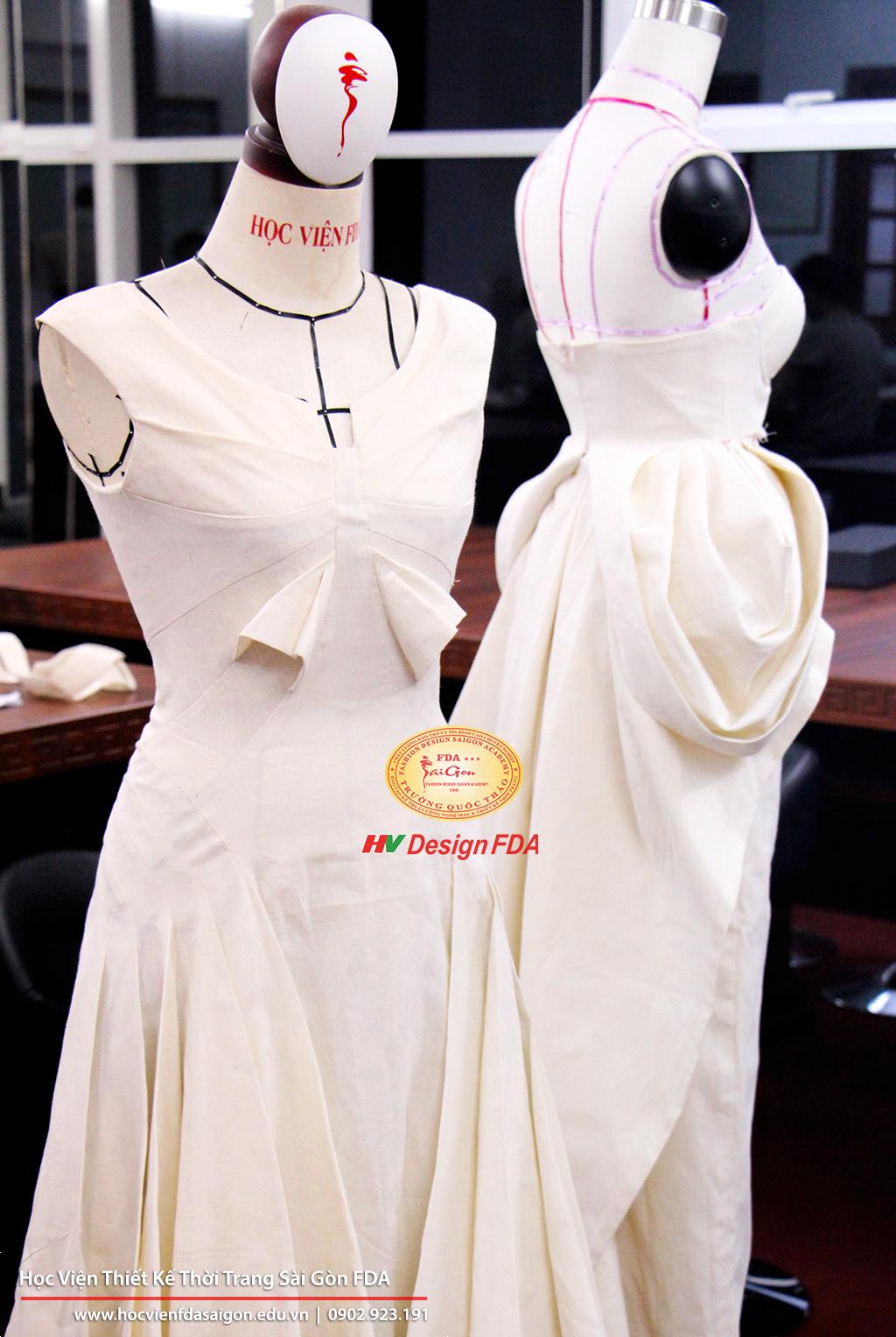 Thiết Kế Rập 3D Trên Mannequin - Fashion Draping