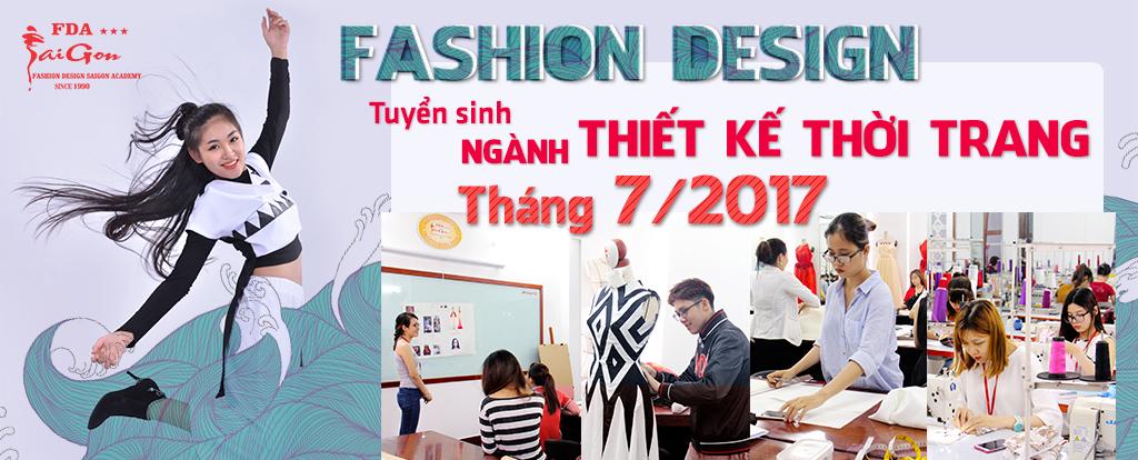 Tuyển sinh ngành thiết kế thời trang 2017