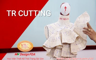 Thiết kế đầm thời trang với kỹ thuật TR Cutting