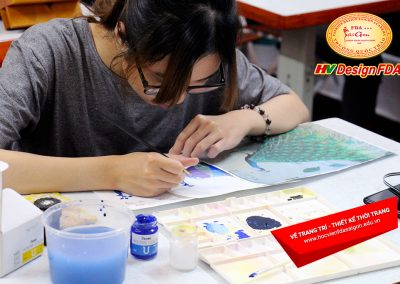 Vẽ trang trí Thiết kế thời trang