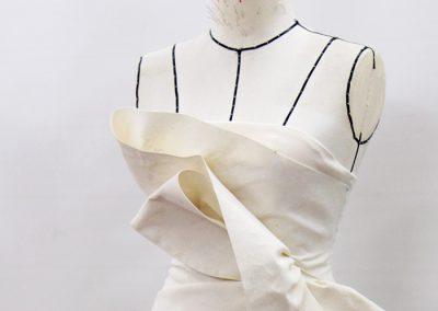 Draping dress