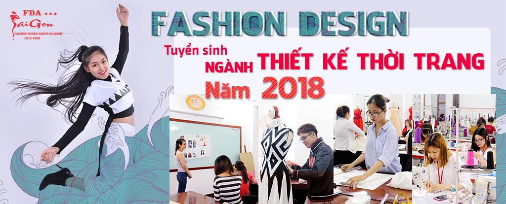 Tuyển sinh ngành thiết kế thời trang 2018