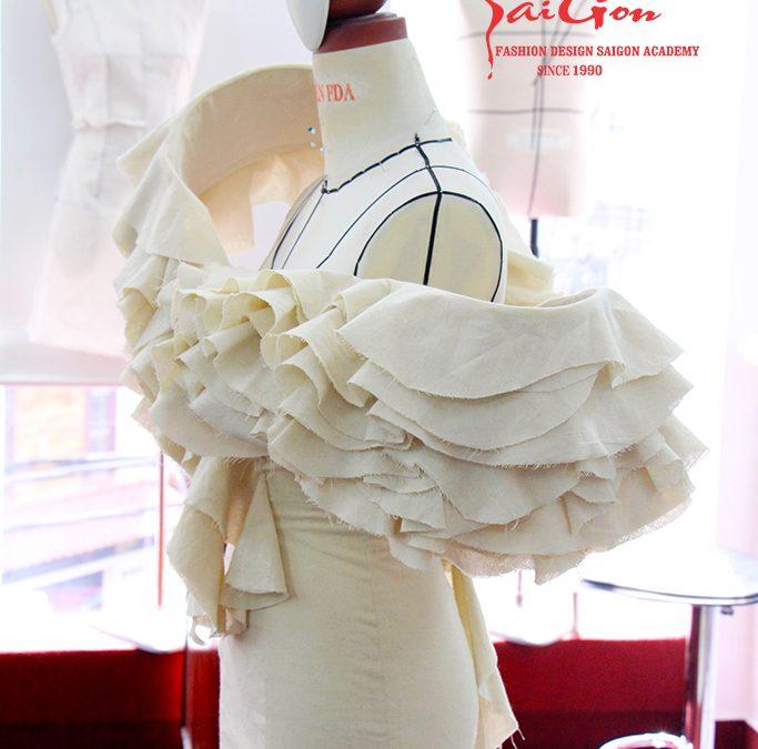 Dựng đầm dạ hội thời trang cao cấp trên manocanh
