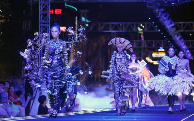 Khoảnh khắc thời trang ấn tượng ở phố đi bộ Nguyễn Huệ (VNEXPRESS.net)