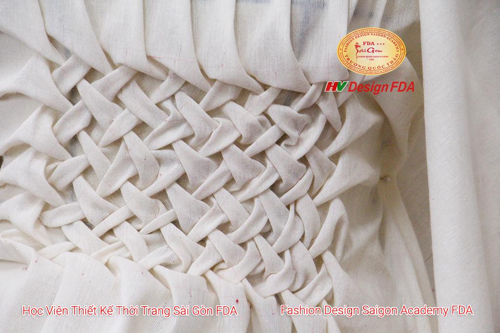Xử lý chất liệu vải trong thời trang