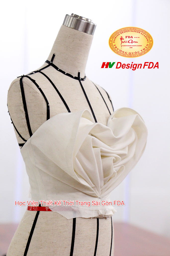 Thiết kế thời trang trên manocanh mini