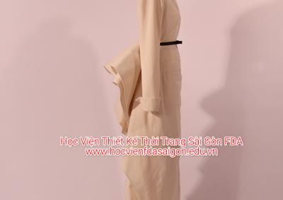 Dựng mẫu thời trang 3D trên mannequin La cocotte Dior 1948
