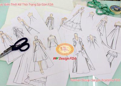 Thiết kế Đầm cưới - Dạ hội (Wedding Dress & Evening Gown) 08