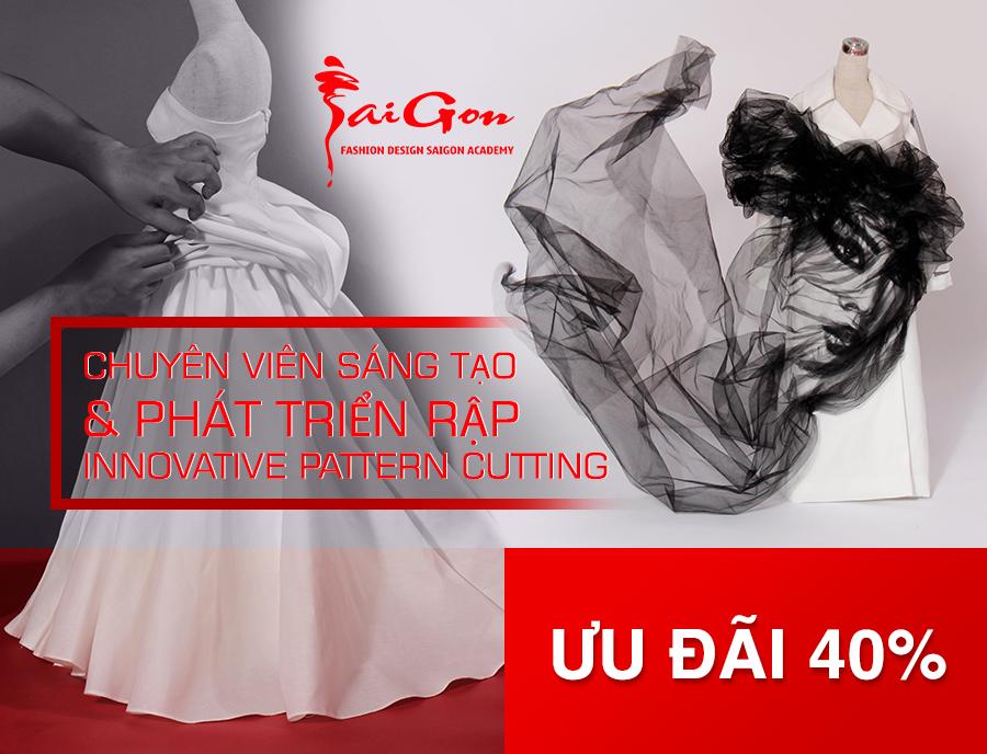 Innovative Pattern Cutting - Sáng tạo và Phát triển Rập thời trang
