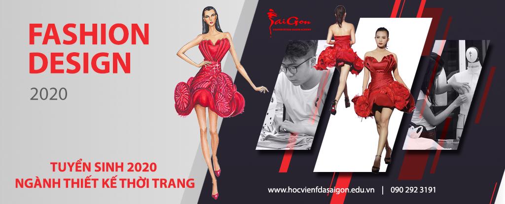 Tuyển sinh 2019 ngành Thiết kế thời trang – Nhiều cơ hội cho sinh viên tại TpHCM