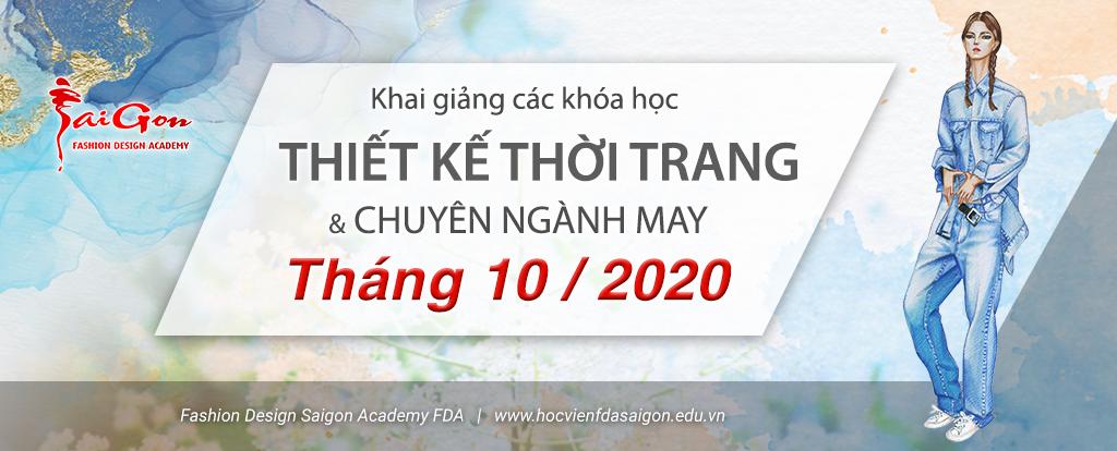 Lịch Khai Giảng Các Khóa Học Ngành Thiết Kế Thời Trang và May Mặc Tháng 10/2020