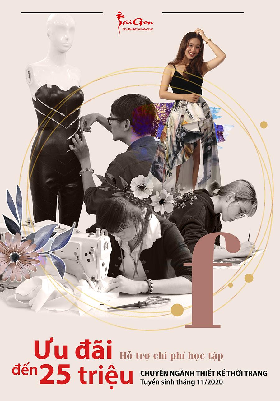 Tuyển sinh chuyên ngành Thiết kế thời trang 2020
