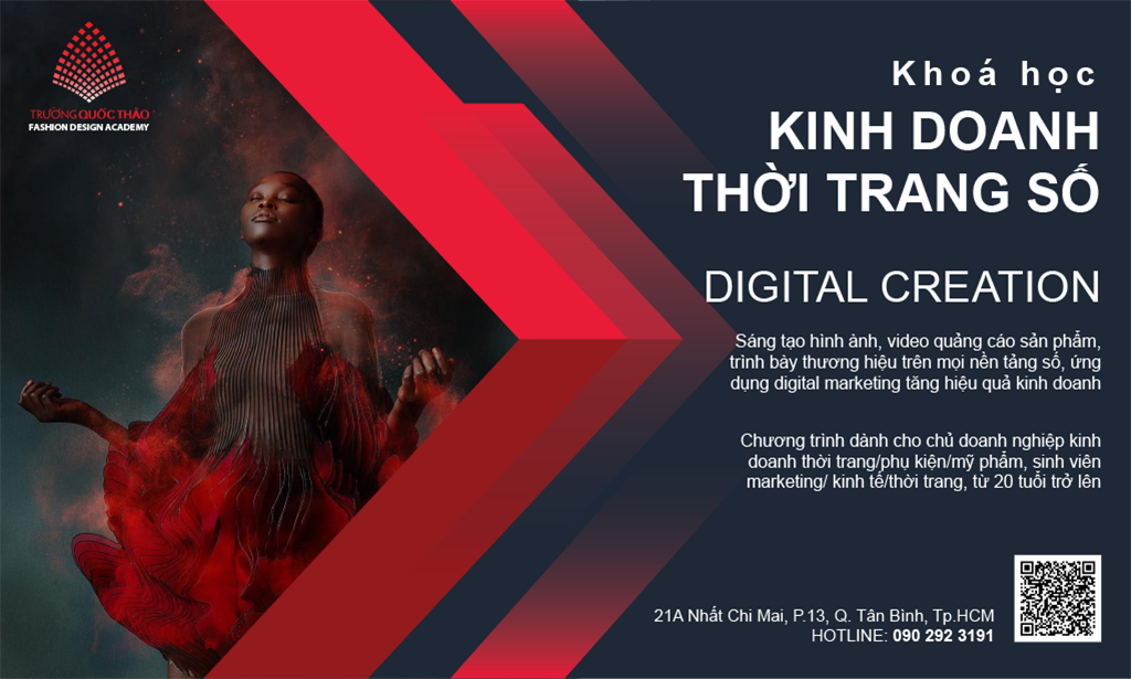 Khóa học sáng tạo số thời trang - Digital creation and marketing for fashion