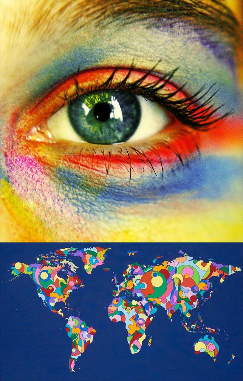 Hình ảnh chủ đề của vòng thi chung kết Cuộc thi thiết kế thời trang Online 2015