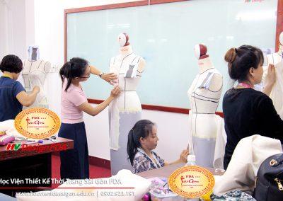 Draping dress - Dựng đầm thời trang trên Mannequin