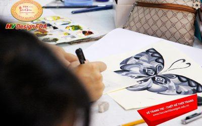 Lớp Vẽ Trang Trí Chuyên Ngành Thiết Kế Thời Trang