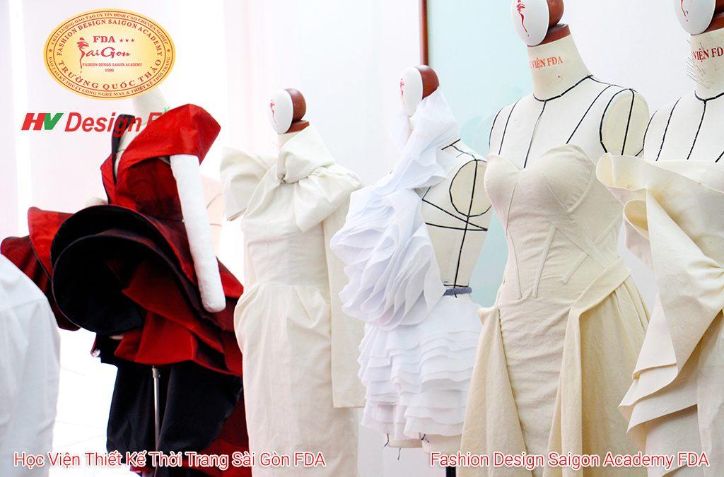 Sản phẩm lớp Fashion Draping nâng cao