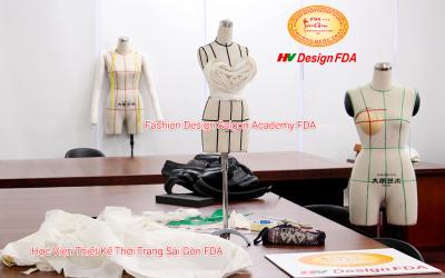 Thiết kế dựng mẫu thời trang trên Manocanh Mini nửa size