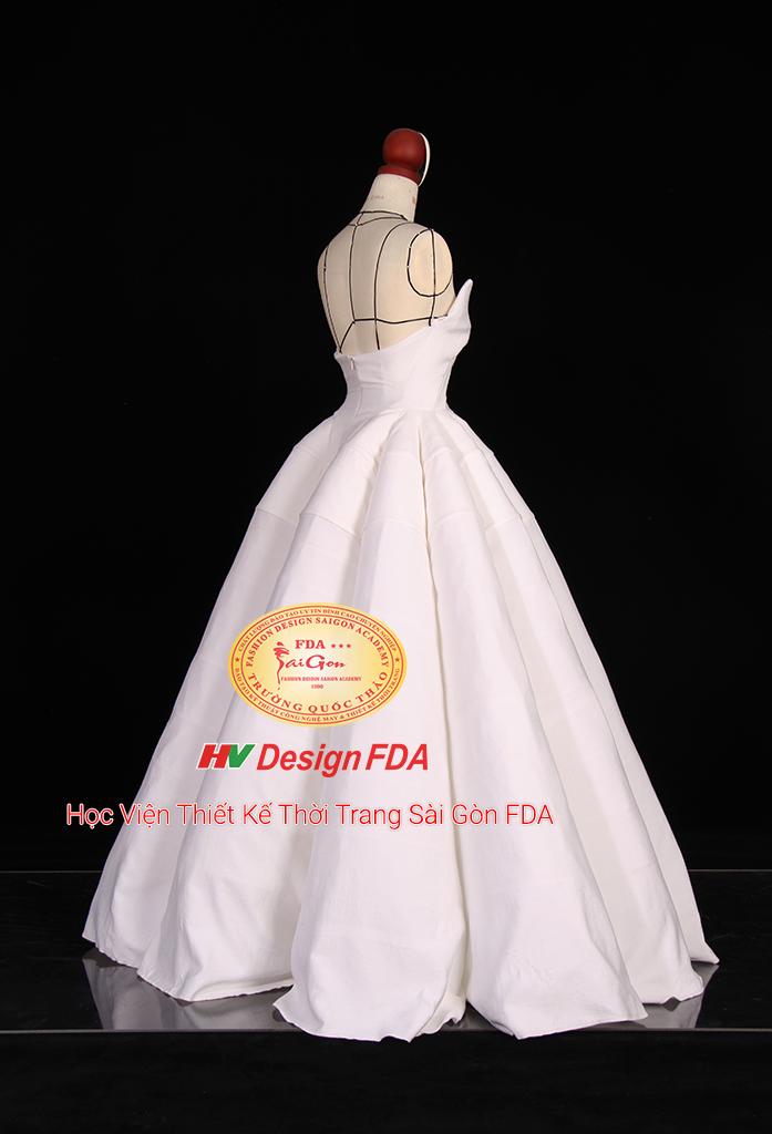 Thiết kế Đầm Cưới Draping 3D
