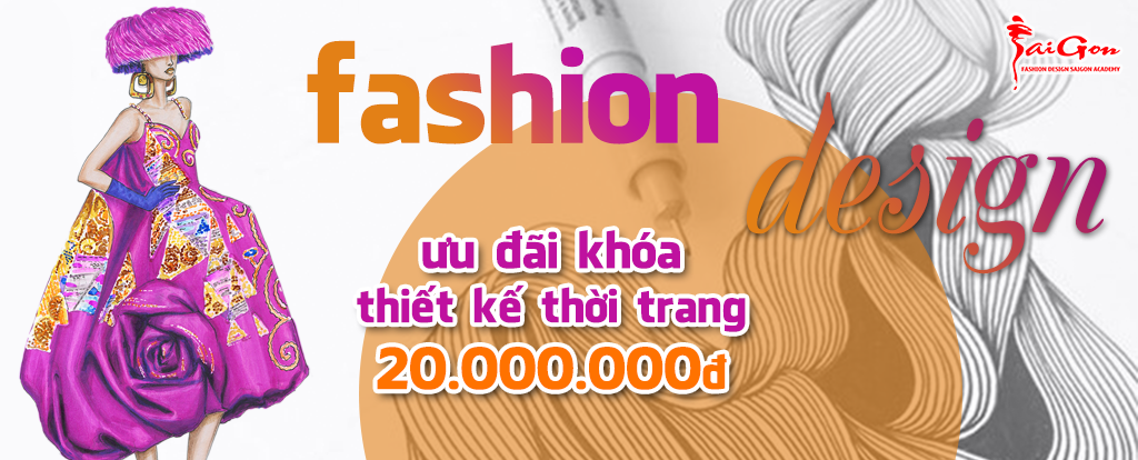 Xét tuyển bổ sung 2018 ngành Thiết kế thời trang Học phí 39 triệu/trọn khóa
