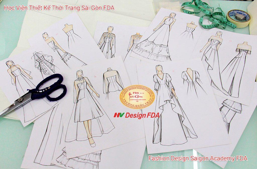 Đồ án thiết kế Đầm cưới – Dạ hội (WeddingDress & EveningGown)